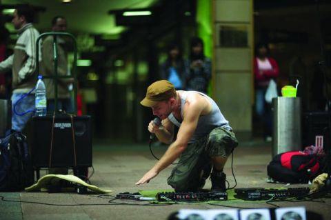 Dub FX, performing live