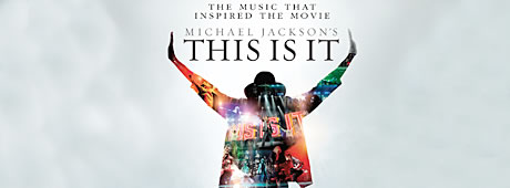 Michael Jackson: This is it banner